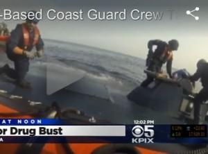 6 тонн кокаина  пытались ввезти на подводной лодке